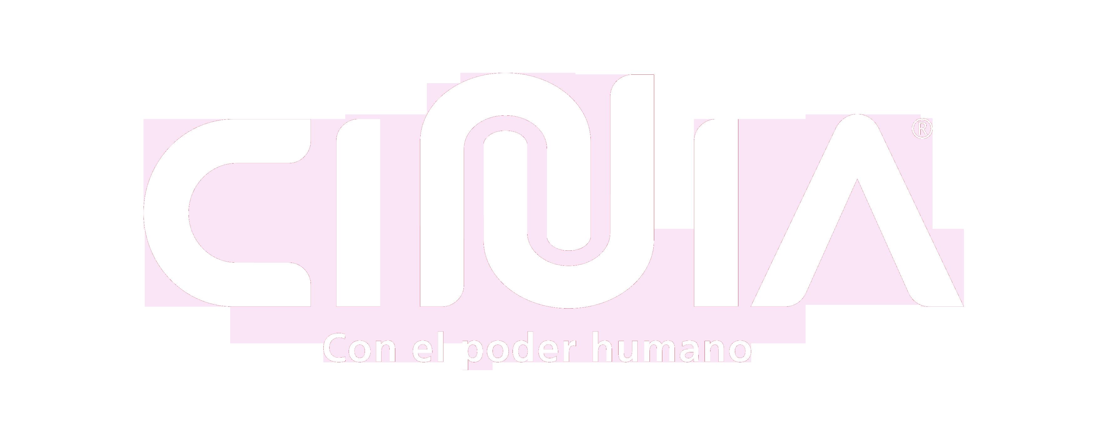 Logo CINIA blanco